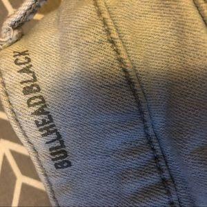 Bullhead Shorts - Bullhead shorts light wash flayed hem pacsun